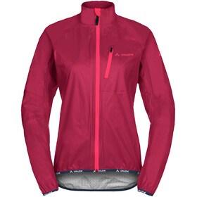 VAUDE Drop III Jas Dames, crimson red